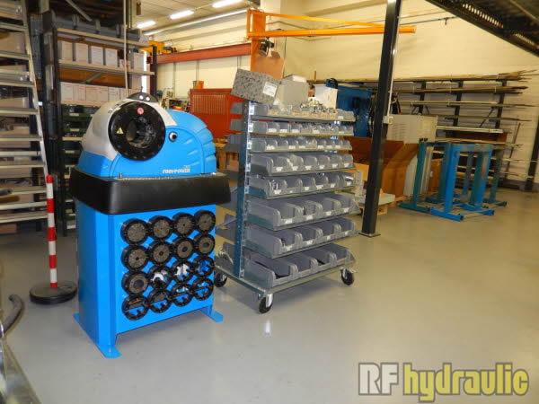 Rf hydraulic for Pressa per tubi idraulici usata
